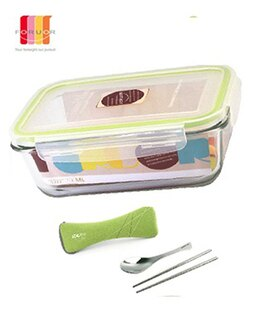 『FORUOR』☆耐熱玻璃保鮮盒餐具組 800ml FU-B800E6 **免運費**