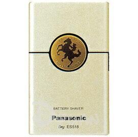 PANASONIC 國際牌卡片型電鬍刀 ES~518^(金色^) ^~^~^~ 免 ^~^