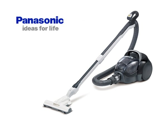 Panasonic國際牌640W智慧節能雙氣旋設計吸塵器(MC-SA21AT)