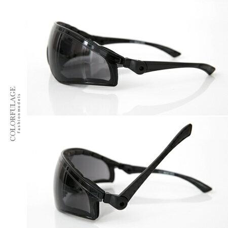 太陽眼鏡 墨鏡 抗UV400 運動必備 舒適軟鼻墊+活動式鏡架+舒適泡棉設計 柒彩年代【NY318】MIT 0