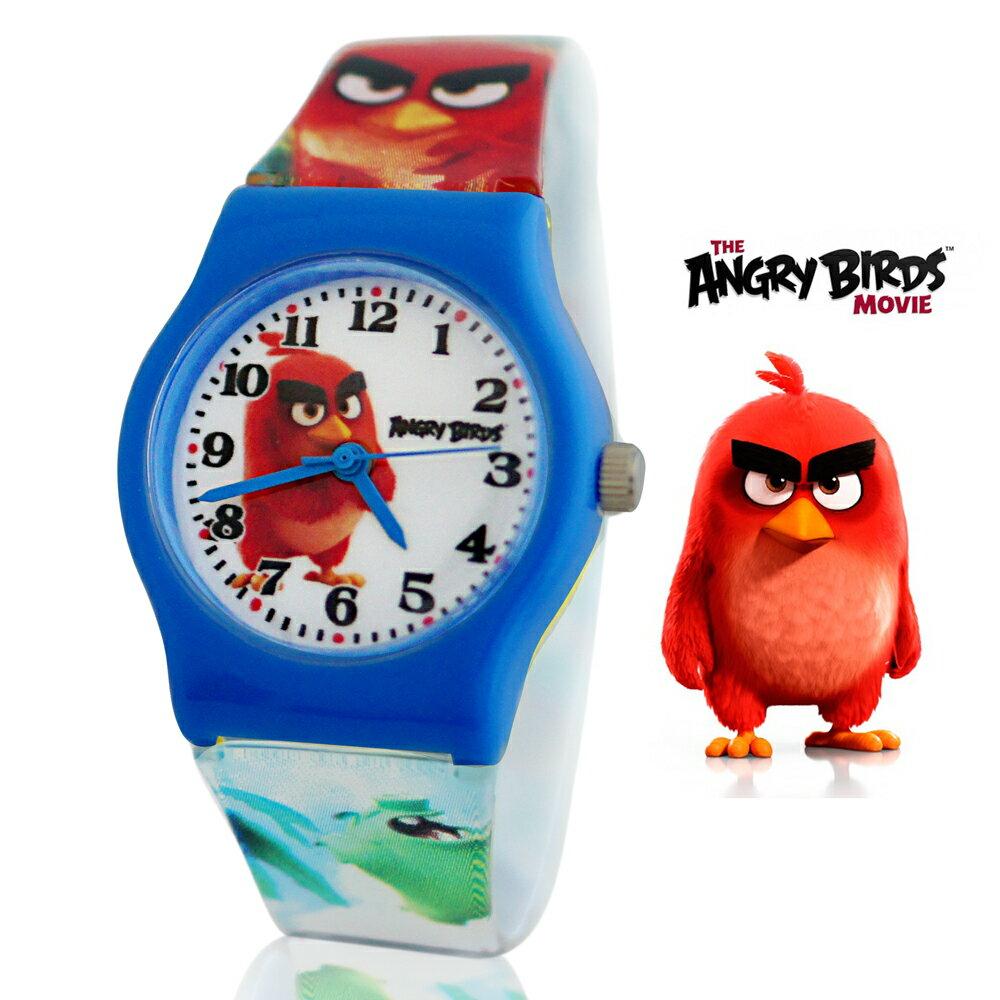 Angry Birds 憤怒鳥正版授權卡通休閒膠錶 - 奔跑瑞德 0