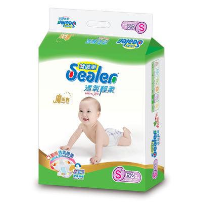 【限量特價】噓噓樂Sealer 透氣棉柔 S62片/包 一箱六包