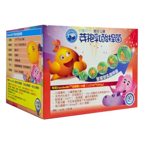 『121婦嬰用品館』芽孢乳酸桿菌脆皮Q糖 15g *10包/盒 0