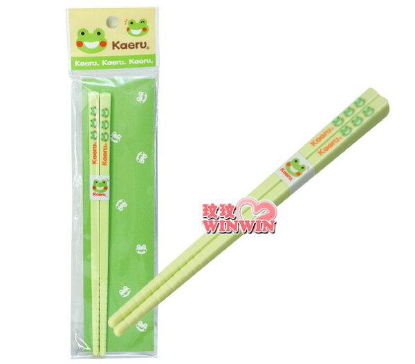 哈皮蛙K-56008 筷子 ~ 外出或學校用餐,環保又衛生