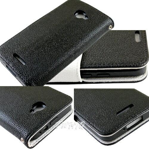 KooPin HTC Butterfly 蝴蝶機(X920D) 雙料縫線 側掀(立架式)皮套