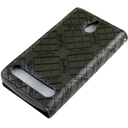 KooPin SONY Xperia E1 (D2005) 隱磁系列 超薄可立式側掀皮套