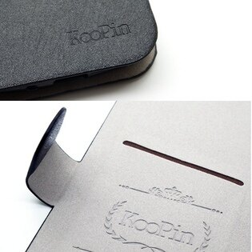 KooPin Samsung Galaxy CORE Plus (G350) 璀璨星光系列 立架式側掀皮套