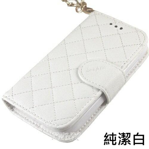 KooPin New HTC One (M7) 手提格格系列 側掀可立式皮套