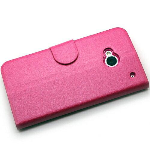 KooPin HTC ONE (M7) 801E 璀璨星光系列 立架式側掀皮套