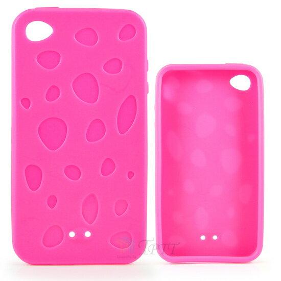 TPTT iPhone 4 水滴紋 手機保護套〈附擦拭布 保護貼〉~ ~ ~  好康折扣