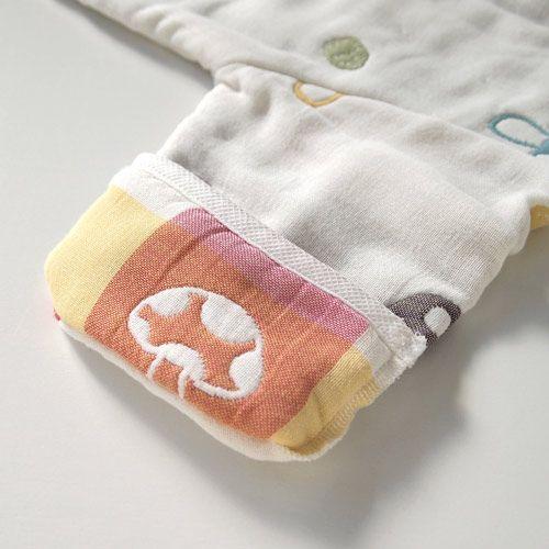 Hoppetta - 蘑菇六層紗3WAY包腳睡袍 7