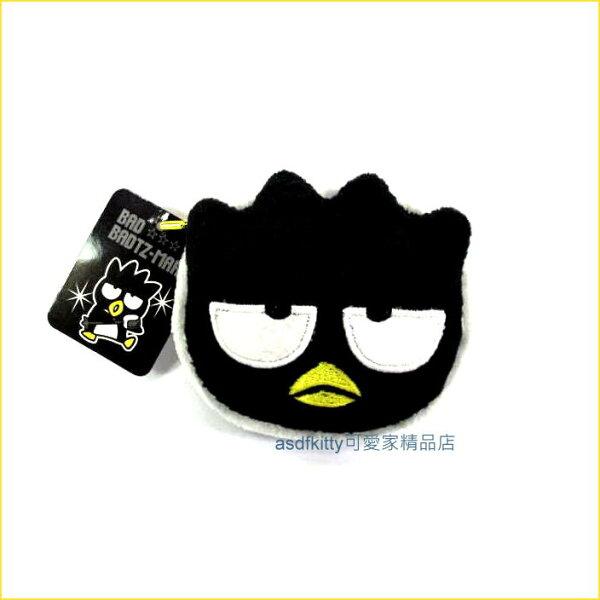 asdfkitty可愛家☆酷企鵝絨毛娃娃鑰匙圈吊飾/掛飾-很大很顯眼-掛包包上或掛車上都好用-台灣正版商品