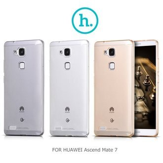 HOCO HUAWEI Ascend Mate 7 輕系列 TPU軟套/手機套/透明套/手機