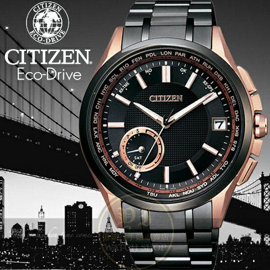 CITIZEN日本星辰金城武代言GPS衛星對時限量腕錶CC3014-50E公司貨