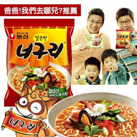 有樂町進口食品 農心昆布烏龍麵-辣味 另有微辣口味 8801043014984 1