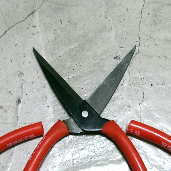 獅王 8吋中碳鋼製包用剪刀 ( 20cm ) - 萬用剪刀 / 多用途剪刀 / 超大型剪刀