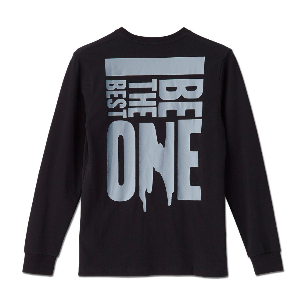STAGEONE BE THE BEST ONE LS TEE 黑色 白色 兩色 5