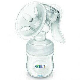 Philips Avent 新安怡 - 輕乳感PP手動吸乳器 (親乳感) 加贈ViVi Baby - 貝殼型溢乳墊12入