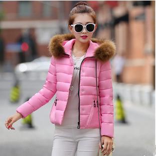 【鳶尾紫服飾館】羽絨服 韓版甜美外套 冬裝 寬鬆連帽大衣 斗篷式外套 現貨