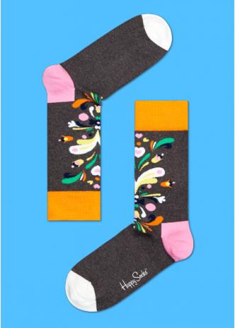 ~Mr.Sneaker~ 瑞典 Happy Socks 2015 炫彩花繪 中筒襪 CU0