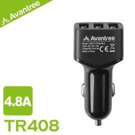~buytake~Avantree USB 4.8A三埠車充 車用充 ^(TR408^)