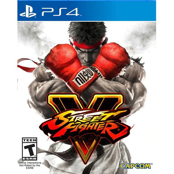 (現貨全新) PS4 快打旋風 5 英日文美版 Street Fighter V