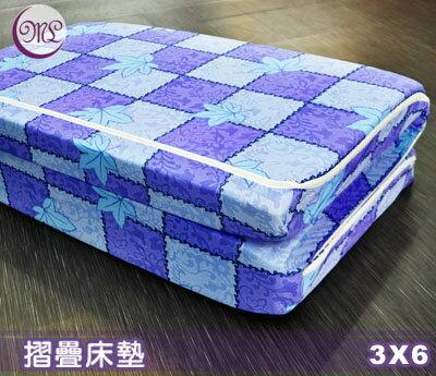 【名流寢飾家居館】杜邦高壓透氣棉三折.硬式床墊.標準單人.全程臺灣製造