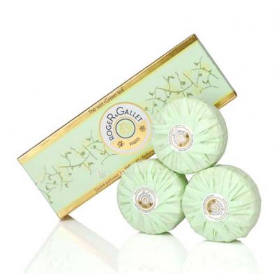 Roger & Gallet 綠茶香氛香水皂禮盒 3x100g【巴黎好購】 0