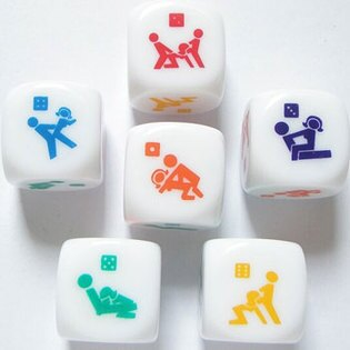 SM道具 性愛前戲 - 姿勢骰子-情趣用品