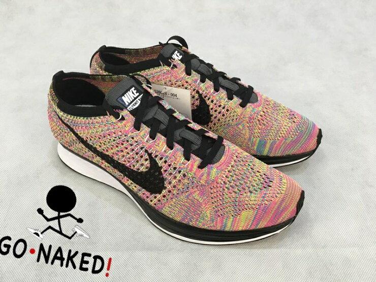 Nike Flyknit Racer Multicolor 3.0 彩虹編織 走路鞋 跑步鞋 0