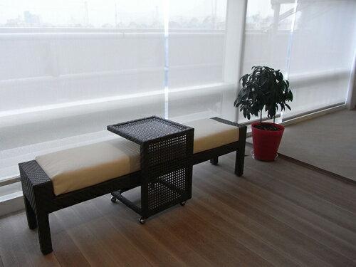 CHA-TE 喫茶 板凳 戶外家具【7OCEANS七海休閒傢俱】TIGER 咖啡混色 1