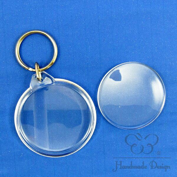 【60321】壓克力鑰匙圈-圓型 (小)