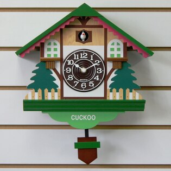 咕咕鐘-WT-889 藝術鐘/掛鐘/裝潢壁鐘/ 造型時鐘/時尚設計擺飾鐘