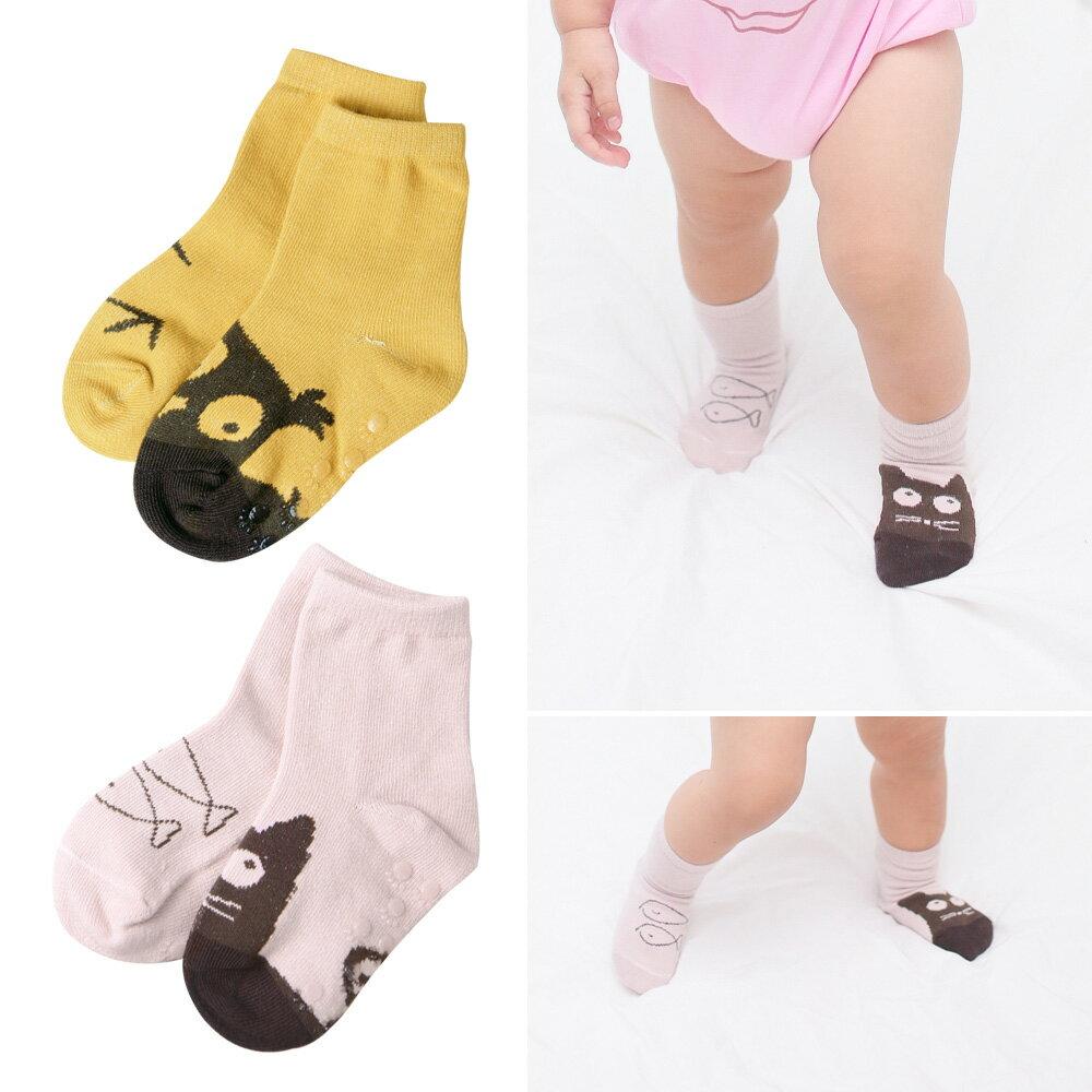 兒童不對稱卡通防滑襪 54202