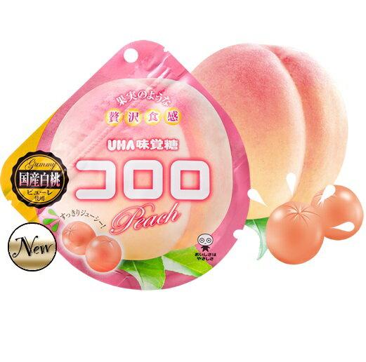 日本UHA 味覺糖 酷露露Q糖(水蜜桃口味) 季節限定