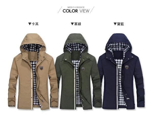 ☆BOY-2☆【NZ78013】休閒皮標連帽夾克外套 1