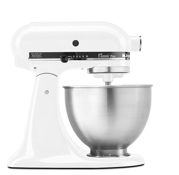 全新 美國 KitchenAid Classic Plus Tilt-Head 4.5QT白色 4-1/2-Quart Stand Mixer 5qT 6qT