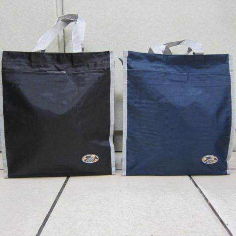 ~雪黛屋~BOLI 才藝袋 簡單萬用手提袋 學生上學書包以外放置教具用品雨衣雨傘便當袋BL182黑