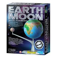 ~ 4M ~地球和月亮 Earth~Moon Model Making Kit ~  好康