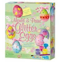 ~ 4M ~復活節彩蛋磁鐵 Mould   Paint ~ Glitter Eggs