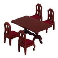 【 EPOCH 】森林家族 - 長餐桌椅組