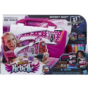 《 NERF 樂活打擊 》Rebelle 蕊貝兒系列 - 變形秘擊槍 ( 粉色 )