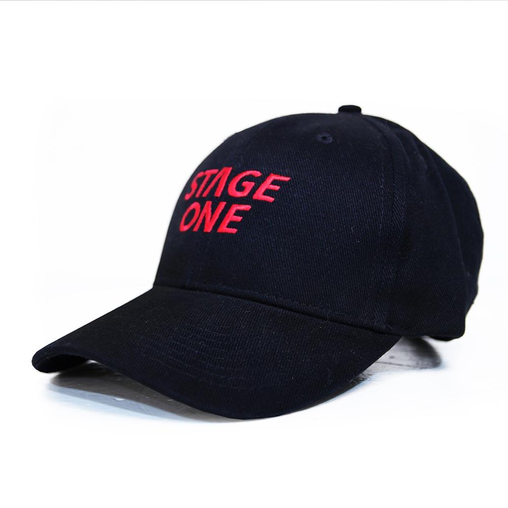 STAGEONE LOGO BASEBALL CAP 黑色 / 丈青色 / 卡其色 三色 4