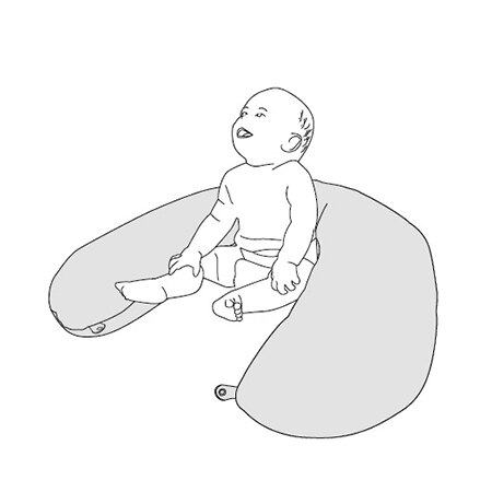 『121婦嬰用品館』unilove 哺乳枕 - 橘 9