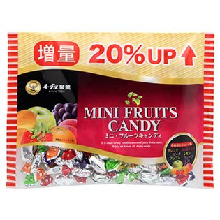 鷹牌迷你水果糖 163g