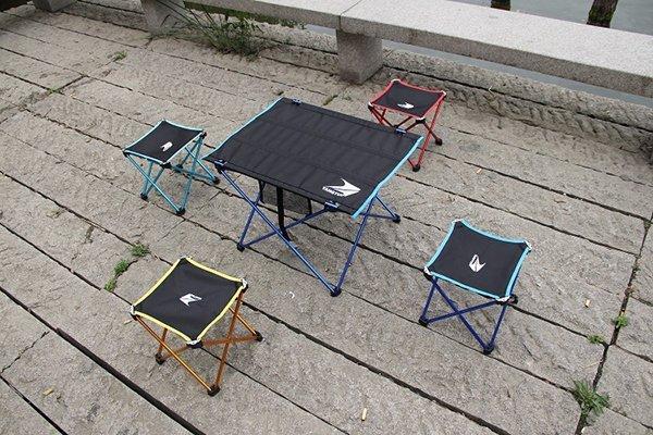 【搜梗生活網】輕鋁合金折疊野餐桌椅