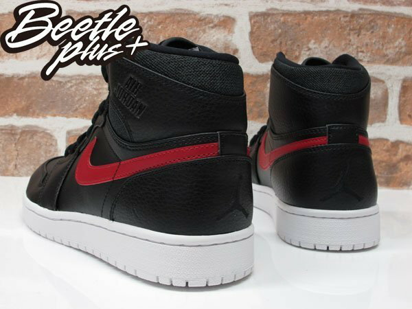 BEETLE+ NIKE AIR JORDAN 1 RETRO HIGH 黑紅 喬丹 一代 魔鬼氈 332550-012 2