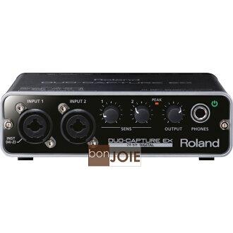 ::bonJOIE:: 日本進口 Roland DUO-CAPTURE EX UA-22 USB 2.0 錄音介面 (全新盒裝) Audio Interface 羅蘭 音訊 錄音盒 錄音卡 UA22