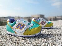New Balance 美國慢跑鞋/跑步鞋推薦Shoestw【FS996YRI】NEW BALANCE 996 學布鞋 童鞋 運動鞋 小童 藍黃