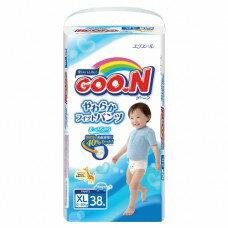 『121婦嬰用品館』大王 嬰兒褲型紙褲 XL - 男(38片*3包/箱) 0
